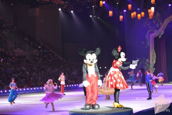 Disney on Ice - Mickey and Mini Mouse