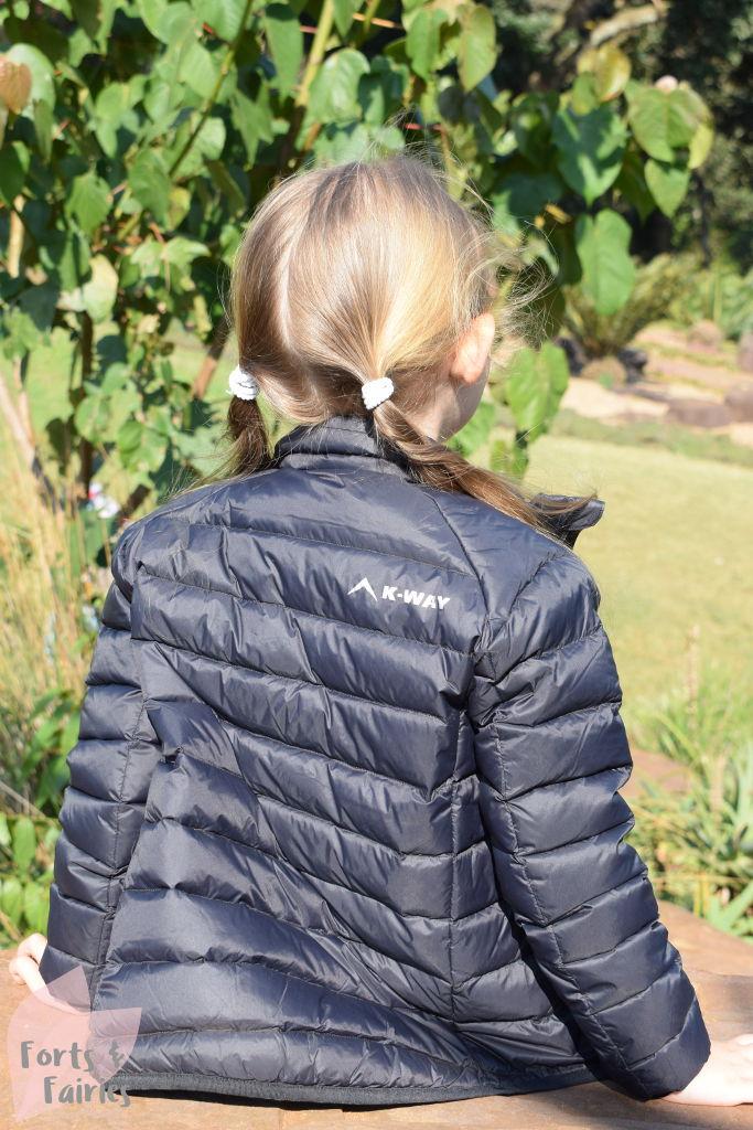 K-Way Kids Cygnet Down Jacket