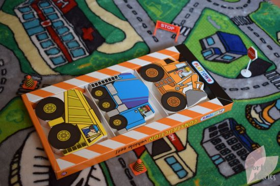 Playtown Construction Vehicle Set
