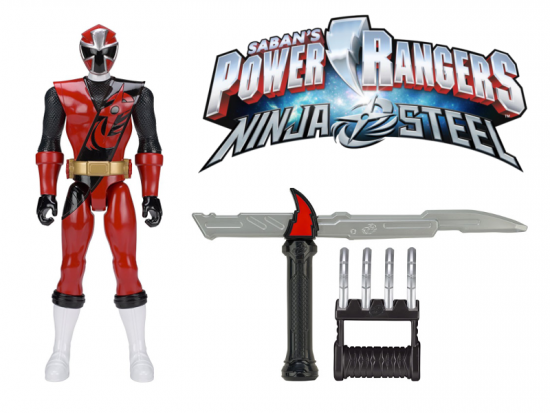 Power Rangers Ninja Steel, Red Ranger and Ninja Training