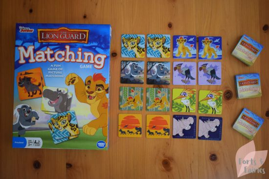 The Lion Guard: Matching Game - Forts and Fairies