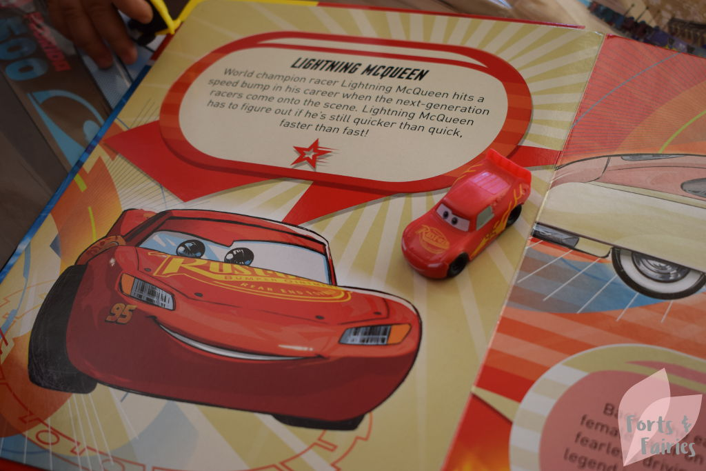 Cars 3 My Busy Books