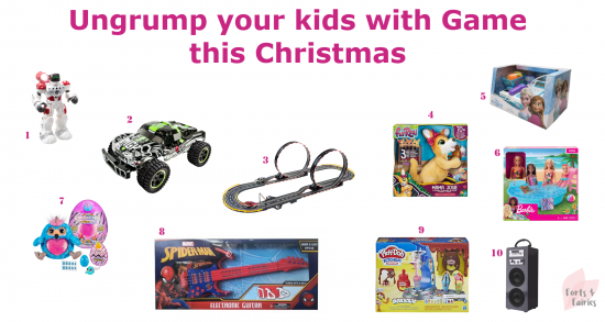 Ungrump your kids with Game this Christmas