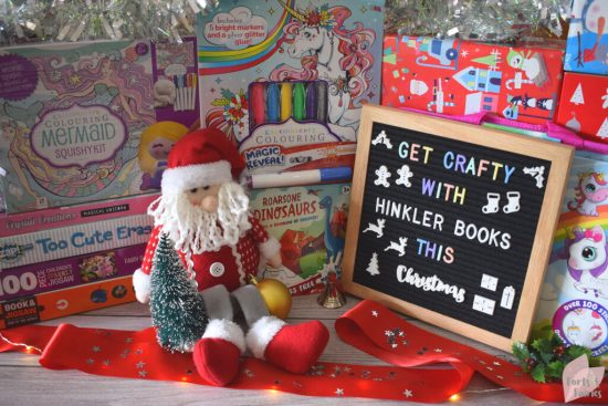 Get Crafty with Hinkler Books this Christmas