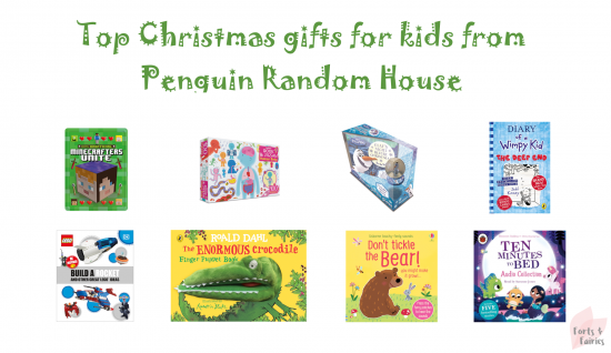 Top Christmas gifts for kids from Penguin Random House (Gift Guide)