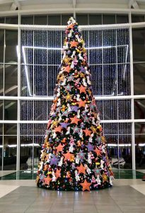 Disney From Our Family to Yours plush toy-adorned Christmas Tree Gateway