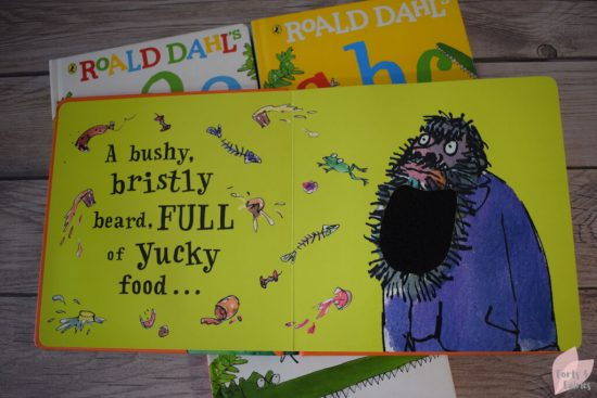Roald Dahl Revolting Things to Touch and Feel