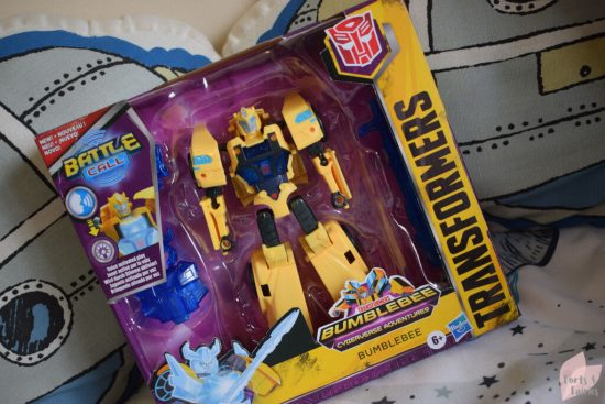 Transformers Bumblebee Cyberverse Adventures Battle Call Trooper Class Bumblebee