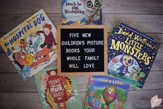 Five new children's picture books your whole family will love